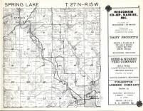 Spring Lake T27N-R15W, Pierce County 1960